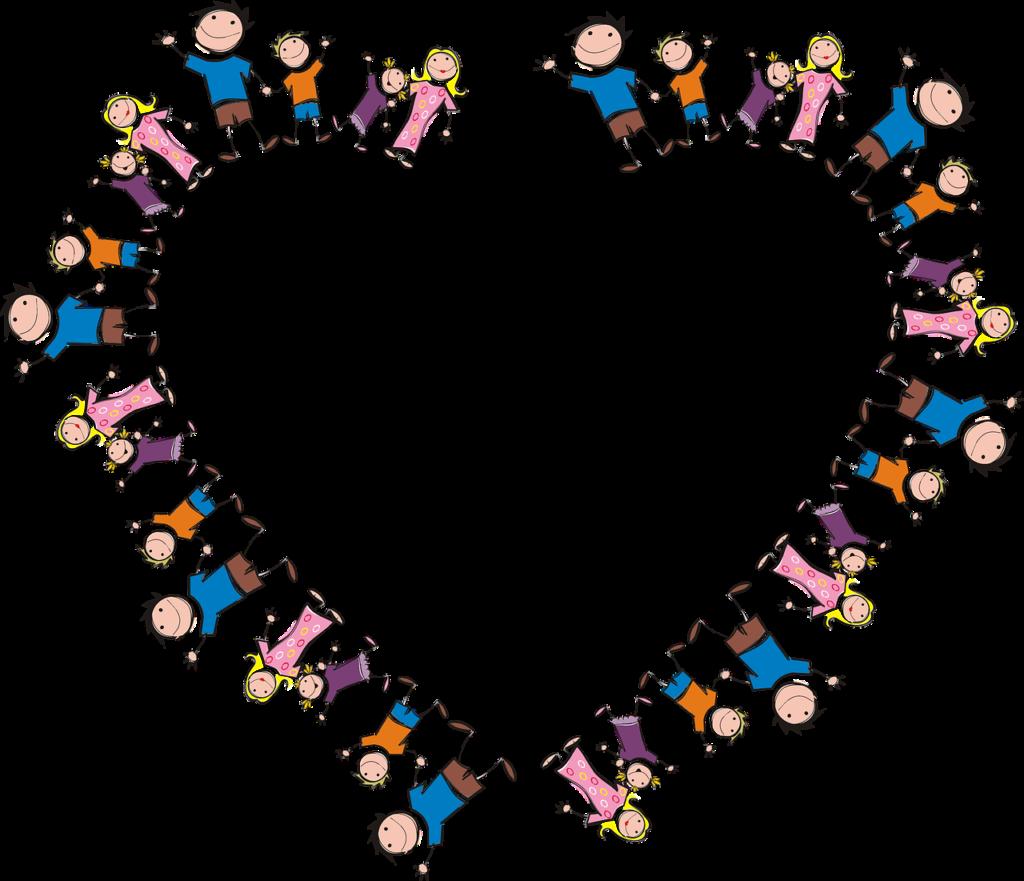 Girotondo, girocuore dei bambini [foto di GDJ, via pixabay, CC0 Creative Commons, Libera per usi commerciali, Attribuzione non richiesta]