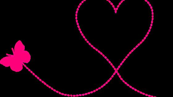 La leggerezza di una farfalla che disegna un cuore [foto di stux, via pixabay, CC0 Creative Commons, Libera per usi commerciali, Attribuzione non richiesta]