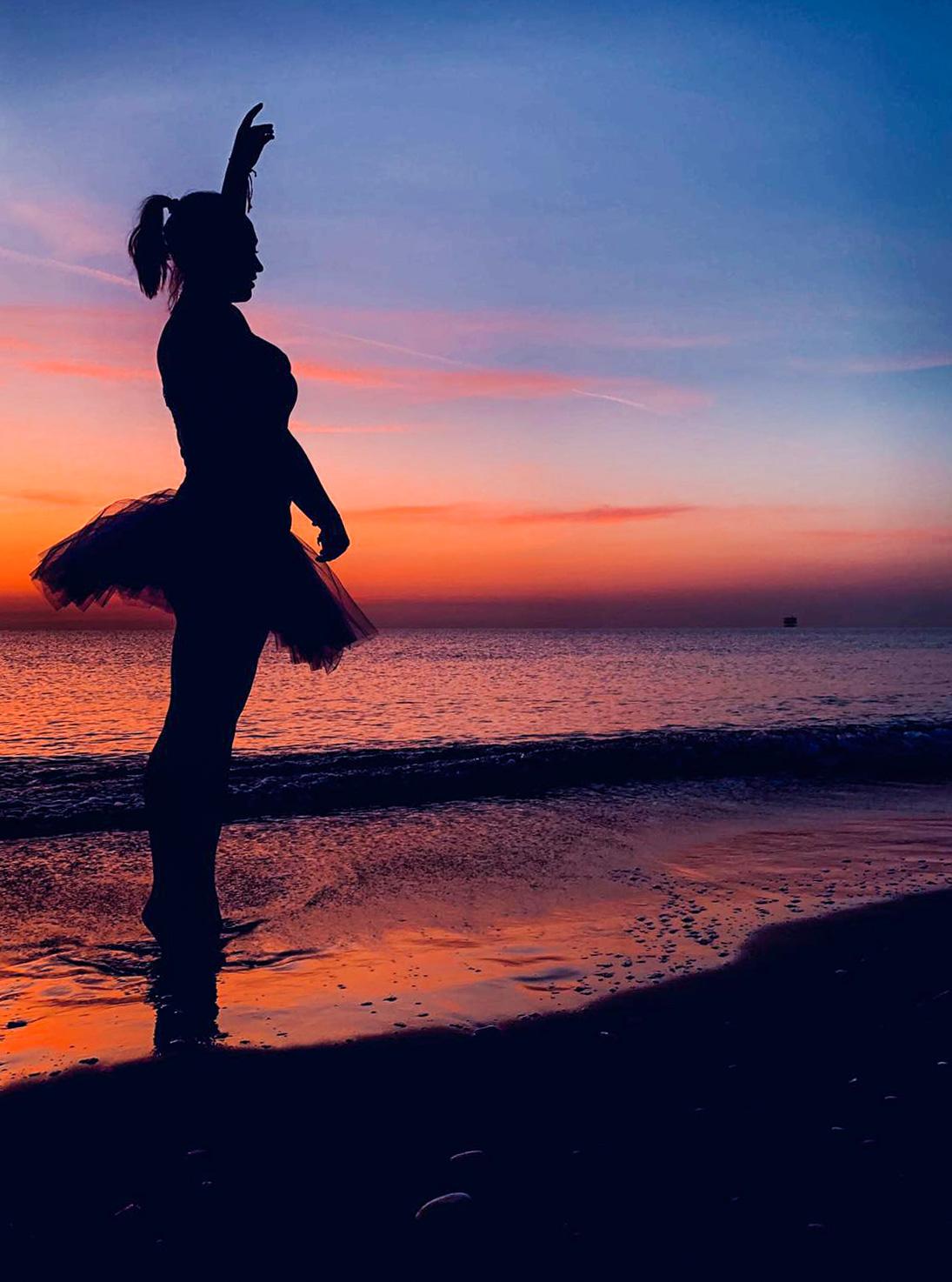 Rebecca all'alba per DanzaTrevi